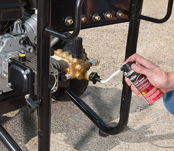 How To Set Up A Gas Pressure Washer